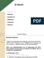 Tumores de Recto - Hospital de Clínicas - Residencia de Cirugía General