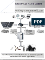 Photovoltaic Stand Alone System