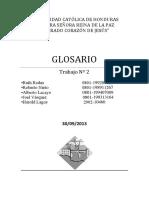 Glosario Hidráulica
