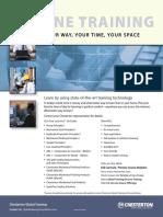 OnlineTraining Brochure