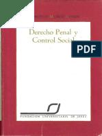 MUNOZ CONDE Francisco - Derecho Penal y Control Social.pdf