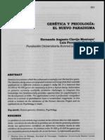 Genes y Psicologia