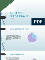 Audience Researchquestionaire