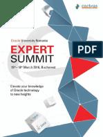 Bucharest ExpertSummit 2016