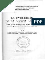 Evolucion de La Logica Griega