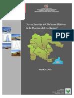 Actualización del Balance Hídrico del río Ramis 2008 Volumen 2
