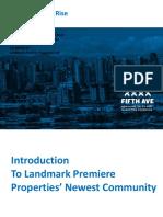 Landmark Properties Foster Martin