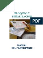 Bloqueo y Señalizacion - Manual Del Participante (v.2007)