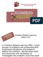 pbl student presentation