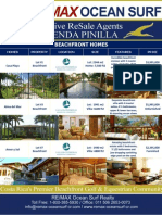 Hacienda Pinilla Homes ReSales May 2010