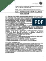 Historia de La Puesta en Escena e Interpretacion Hasta El Siglo XIX