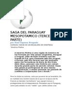 Saga del Paraguay Mesopotámico (TERCERA)