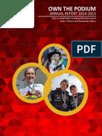 Own the Podium Annual Report 2015