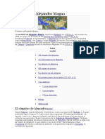 Bibliografia de Alejandro Magno