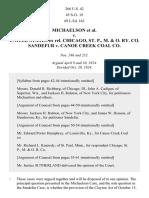 Michaelson v. United States Ex Rel. Chicago, St. P., M. & OR Co., 266 U.S. 42 (1924)