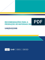 Guia de Recomendações Para Produção de Materiais Didáticos