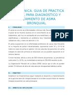 Protocolo de Asma Bronquial