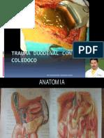 Trauma Duodenal Con Lesion Coledoco d