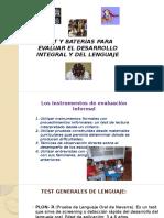 4-TEST Y BATERIAS PARA EVALUAR LENGUAJE.pptx