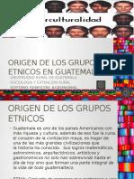 Presentacion Origen de Los Grupos Etnicos en Guatemala