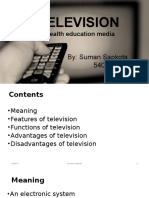 TV as a Mass Media in Health Education