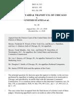 Union Stock Yard Co. v. United States, 308 U.S. 213 (1939)