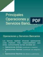Operaciones y Servicios Bancarios