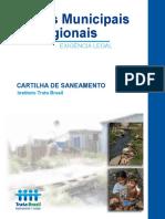 Cartilha de Saneamento Trata Brasil