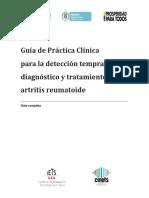 GPC Artritis reumatoidea