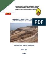 Curso Perforación y Voladura_2016_I
