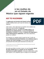 Estas son las multas de tránsito en el Estado de México que siguen vigente.docx