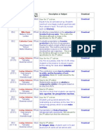 ES Website in Order With Hyperlinks