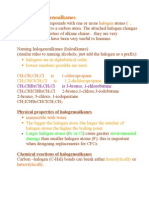 JB CI 13.1 Halogenoalkanes