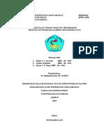Hubungan Terapi Oksigen Hiperbarik Dengan Keracunan Carbon Monoksida (Co)