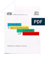Towards a multilingual culture of education