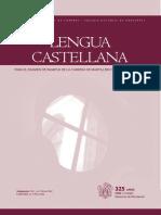 Apunte Lengua Castellana
