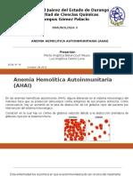 Anemia Hemolitica Autoinmunitaria