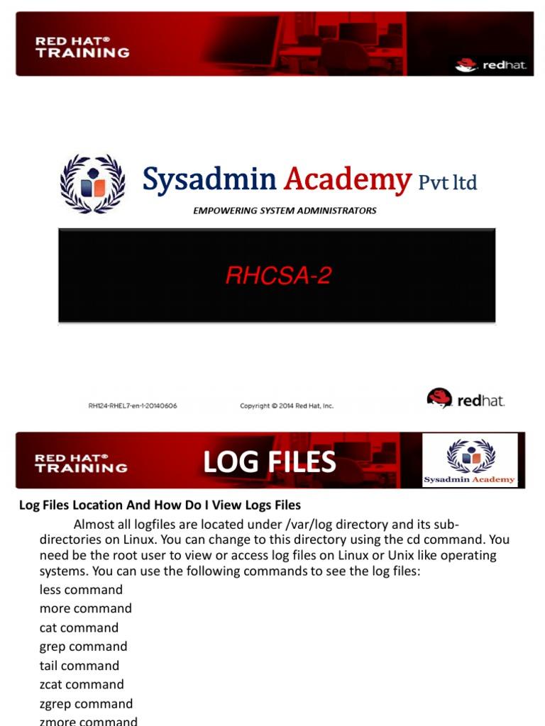 RHCSA 2 | Port (Computer Networking) | Transmission Control