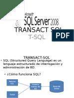 14.- Transact SQL Avanzado