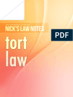 Nick's Notes - Tort.pdf