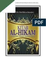 Kajian Kitab Al-hikam Baru