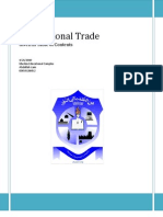 Internaltional Trade by Abdullah Izam