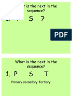Sequence Starter