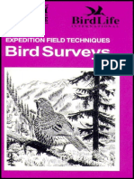 Bird Surveys-Expedition Field Techniques.