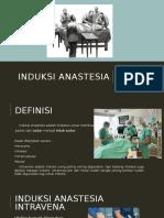anastesi - Induksi Anastesia