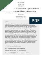 Grubbs v. General Elec. Credit Corp., 405 U.S. 699 (1972)