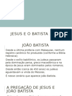 Jesus, João Batista e o Reino de Deus - JEREMIAS