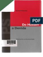 Bernhard Waldenfels-Introduccion a La Fenomenologia-De Husserl a Derrida