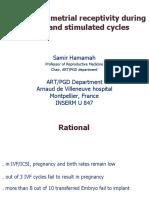 Human Endometrial Receptivity