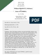 Proffitt v. Florida, 428 U.S. 242 (1976)